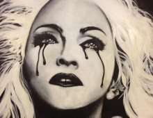 Madonna. Acrylic on Wood Panel. 5 ft. x 3 ft. 2012