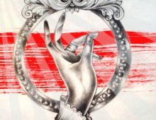 """The """"Bottom Feeder"""". Tattoo Appropriation. Pencil & Photoshop. 2012."""