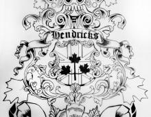 Hendricks. Tattoo Design. 2012